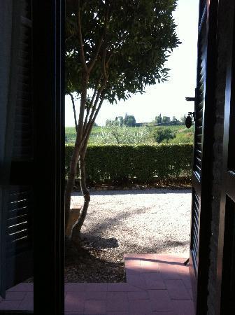 Il Casale del Cotone: Terrace door view