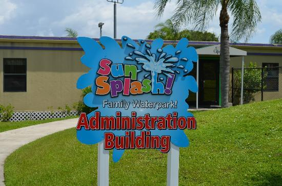 Cape Coral, FL: Admin building sign.