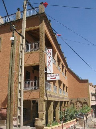 Hotel Etoil Du Toubkal : Front of the Hotel