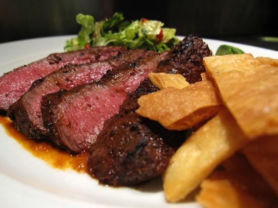 Four: Flatiron steak salad, from the lunch menu