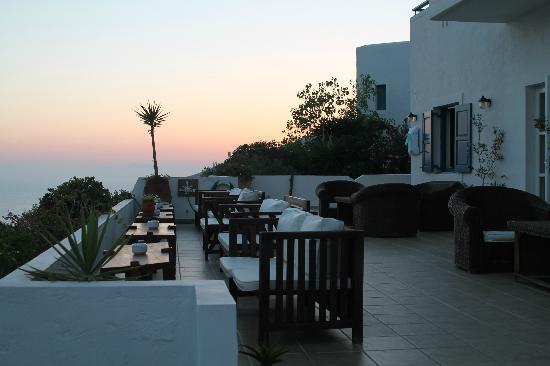 Aegialis Hotel & Spa: Loungeområde