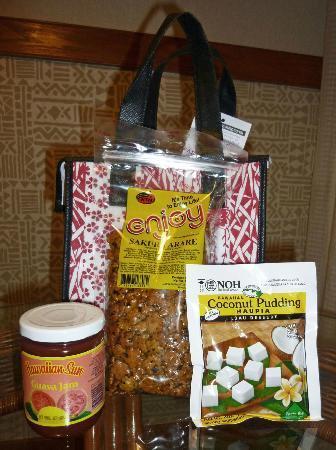 Tour Da Food: Goodies bag