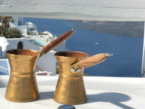 Hotel Galini: Greek cafe
