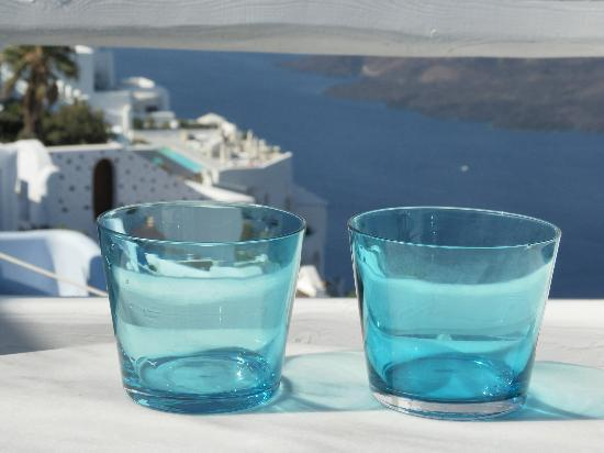 Hotel Galini : Greek cafe with cold water