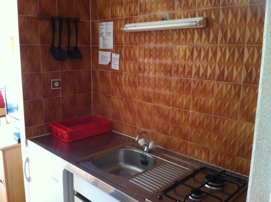 Residence St Francois: coin cuisine