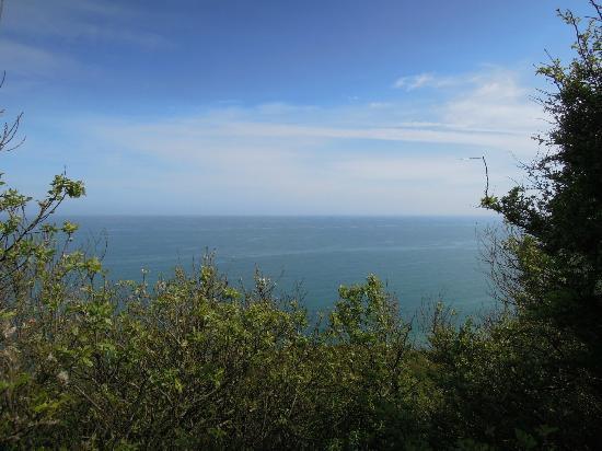 Longues Battery: La Manche sous le soleil