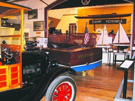 Interior of New Hampshire Boat Museum