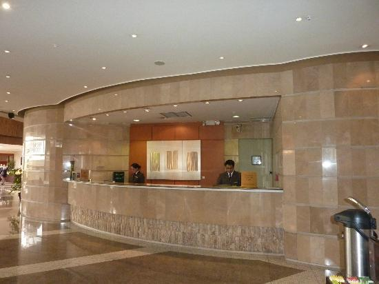 Sheraton Quito: Front desk