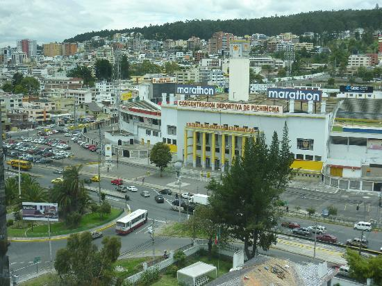 Sheraton Quito: View from club lounge