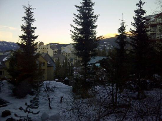 The Westin Resort & Spa, Whistler: View from our room