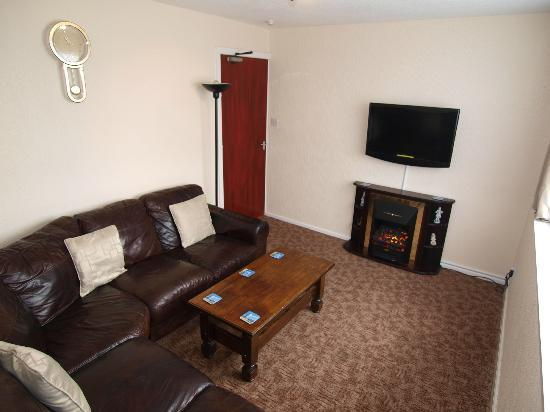 Waverley House Apartments: 3rd floor -Flat 11 for 6 people-lounge picture