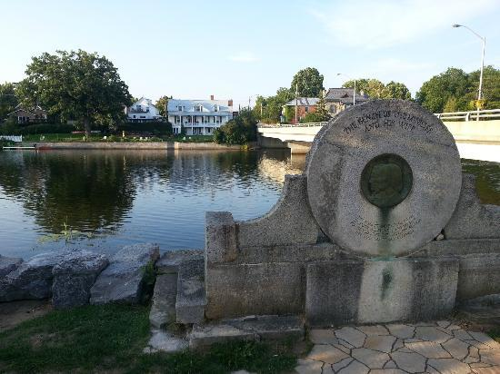 view of Menzies House from downtown Almonte - Picture of Menzies House 1850  Bed and Breakfast, Almonte - Tripadvisor