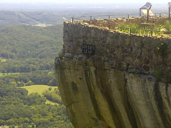 Lookout Mountain, GA: On top of the world at Rock City!
