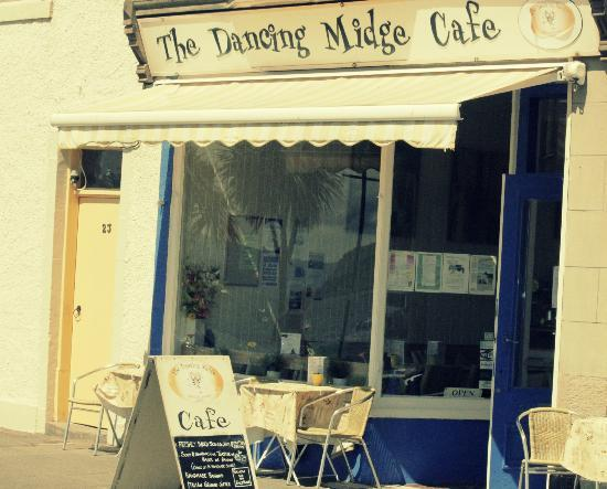 The Dancing Midge Cafe: The Cafe