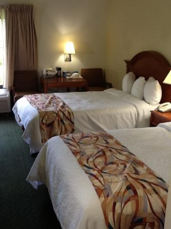 Best Western Airport Inn: beautiful new clean beds