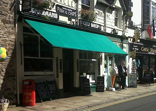Fisherman's Fish & Chip Shop: Fishermans Chippy, Conwy