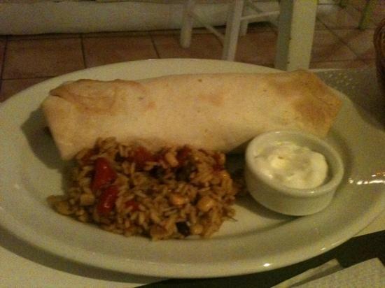Nutelleria Creperie: burrito
