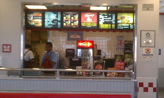 Tommy's Original Hamburgers: Interior, order area
