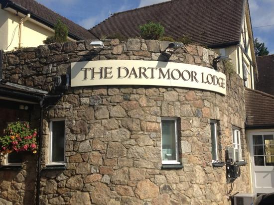 The Dartmoor Lodge: The entrance