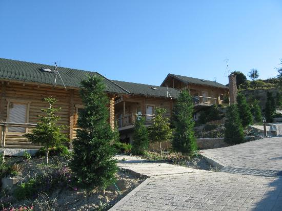 Hyades Mountain Resort: τα σπιτάκια