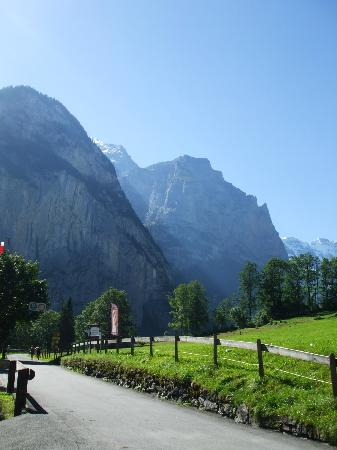 Camping Jungfrau: The views from the campsite