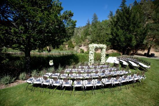 Calistoga Ranch An Auberge Resort Lommel Lawn Wedding
