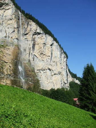 Camping Jungfrau: A view from our tent.