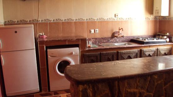 Casa Annasr: kitchenette
