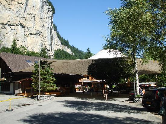 Camping Jungfrau: The campsite...