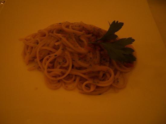 Locanda Garzelli: Spagetti ai ricci di mare
