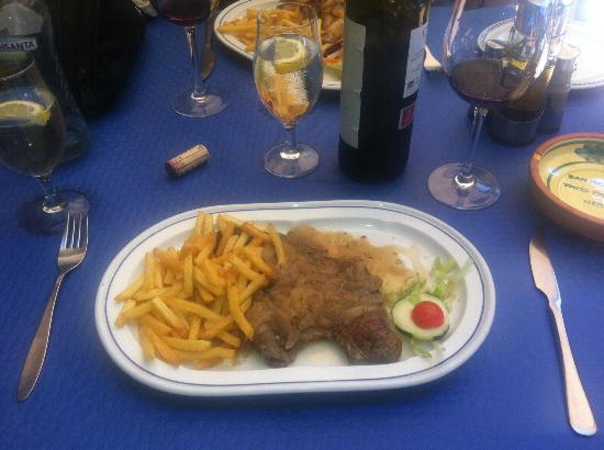 Restaurante Pacomari: Pacomari - calf's liver & onions