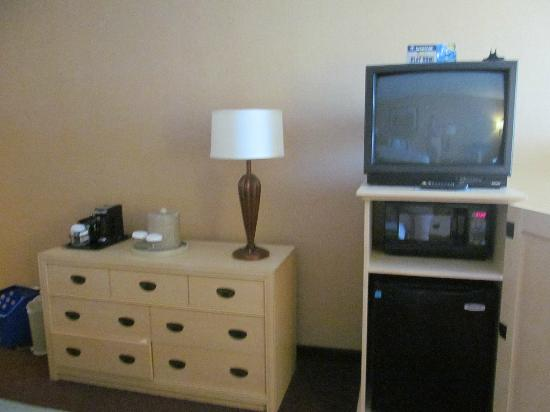 Holiday Inn San Antonio International Airport: TV, Microwave & Fridge