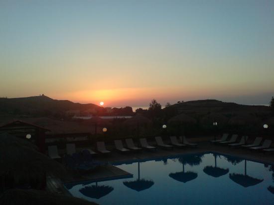 Belvedere Hotel: sunset