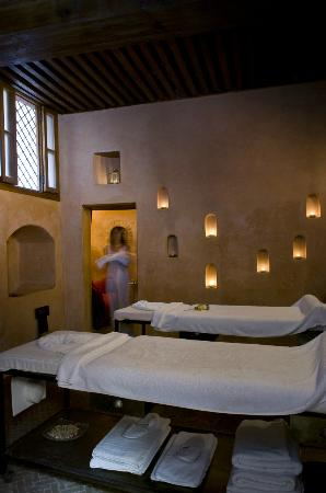 Spa Laaroussa : Massage room for two people