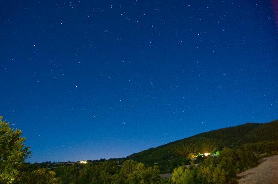 Agriturismo Le Gore: Notte stellata