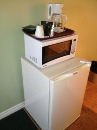Perth Plaza Motel : Coffee. microwave and fridge