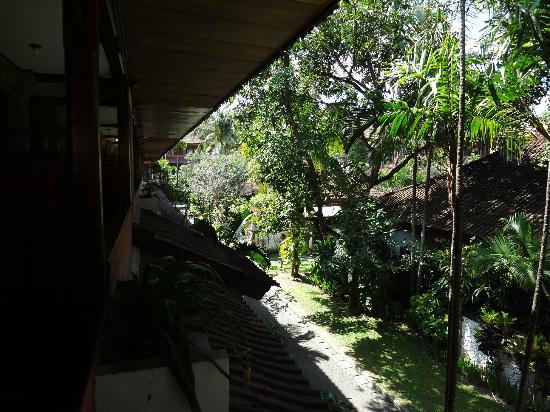 Grand Istana Rama Hotel Bali: balcony view