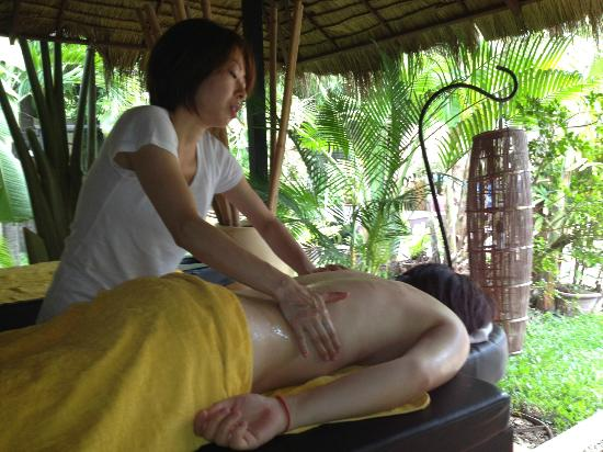 Antanue Spiritual Resort & Spa: japanese detox massage