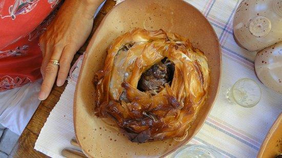 Gramboussa: agnello pasta fillo e miele