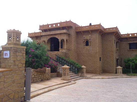 Hotel Rawalkot Jaisalmer: The entrance