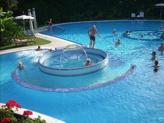 Vista di una piscina picture of hotel mioni pezzato abano terme tripadvisor - Hotel mioni pezzato ingresso piscina ...