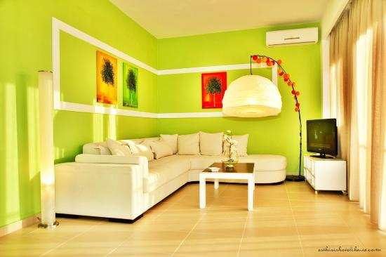 Esthisis Suites: Two bedroom maisonette - Livingroom