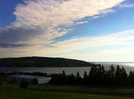 The Iona Heights Inn: View from our room @ Highland Heights Inn