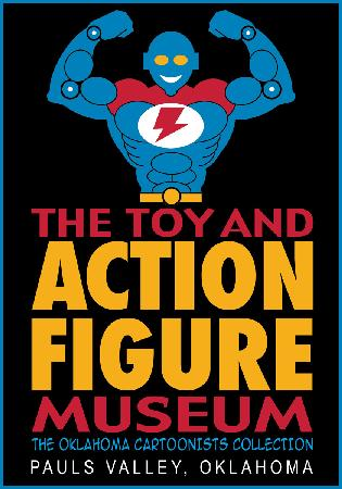 Toy and Action Figure Museum: This is the logo for the only Toy & Action Figure Museum.