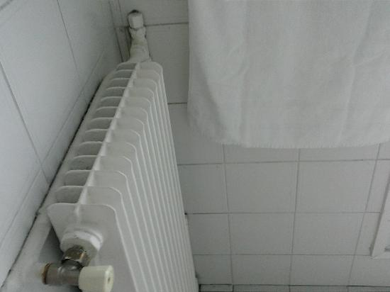 New Hotel Opera: radiador baño