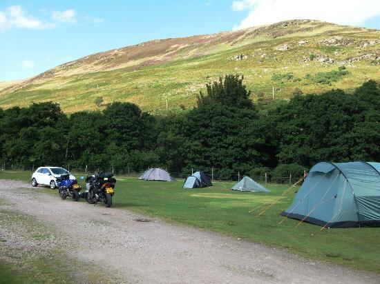 Lochranza Caravan & Camp Site: Watch the Golden Eagles soar