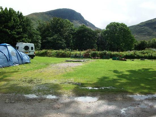 Lochranza Caravan & Camp Site: Breathtaking