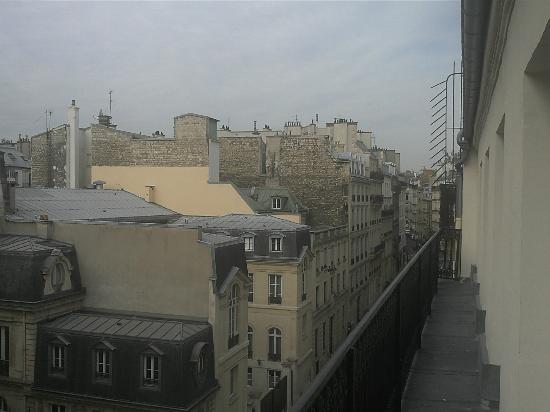 New Hotel Opera: vista balcon 5 planta