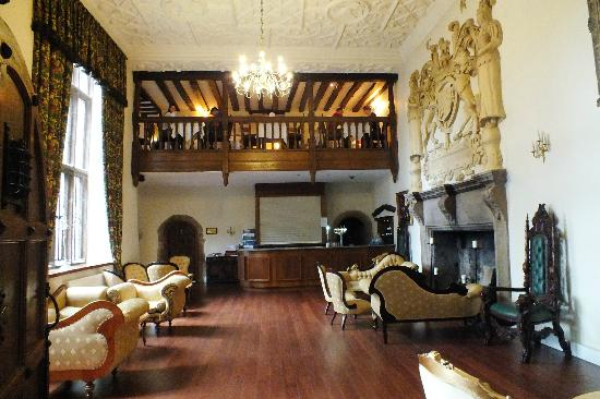 Boringdon Hall Hotel And Spa Living Room Bar Upstair Dining