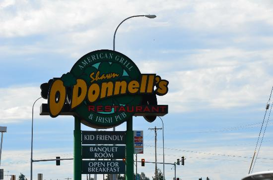 Shawn O'Donnell's American Grill and Irish Pub: O'Donnell's!